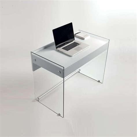 bureau avec plateau en verre plateau en verre pour bureau le plateau de bureau en
