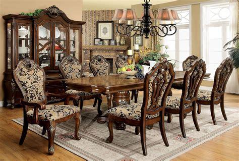 vicente cherry extendable rectangular dining room set
