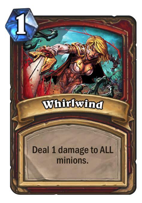basic deck hearthstone warrior whirlwind hearthstone card