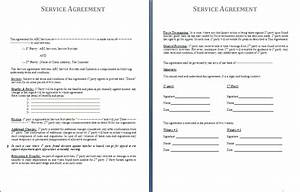 service agreement template by formsword With general service agreement template free