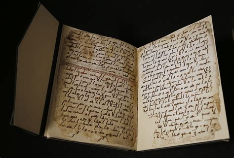 Pages Of Ancient Koran Among Oldest Yet Discovered