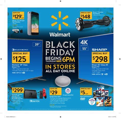 Walmart Black Friday Ad For 2018