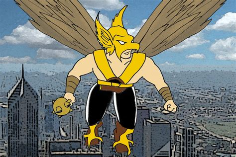 Hawkman And Hawkgirl Nod In Midair By Wibbitguy On Deviantart