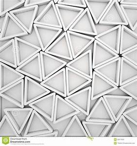 White Triangles Stock Images - Image: 32577624