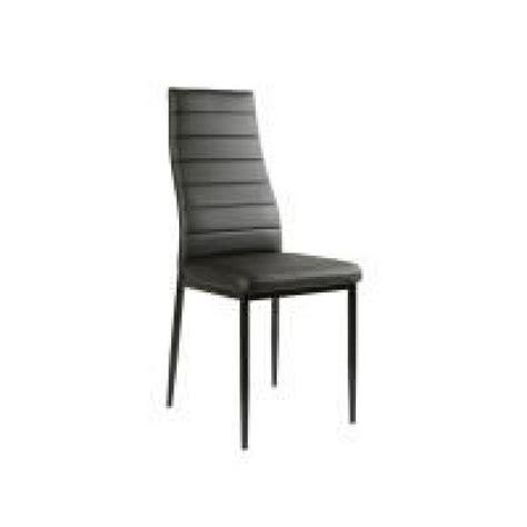 table 6 chaises table en verre 6 chaises noir malia achat vente table