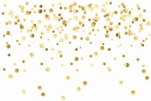 Gold confetti background transparent 9989 for Gold streamers png
