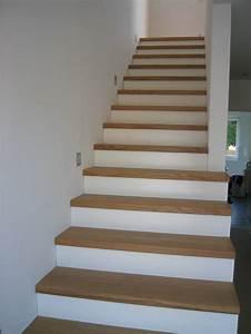Holzstufen Auf Beton : stufen auf betontreppe gerader lauf eichestufen sto ~ Michelbontemps.com Haus und Dekorationen