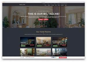 25 Top Hotel Booking Website Templates 2019