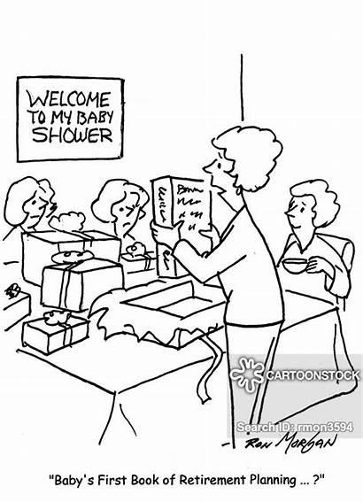Gifts Cartoon Cartoons Funny Comics Shower Cartoonstock