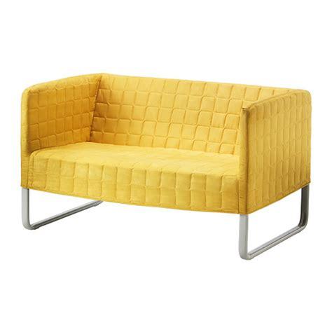 gebraucht sofa knopparp loveseat bright yellow ikea