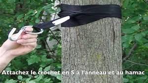 Accrocher Hamac Arbre : sangles cologiques pour arbres par hamac univers youtube ~ Premium-room.com Idées de Décoration