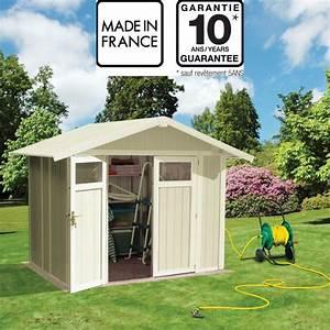 Abri De Jardin En Pvc : abri de jardin en pvc 4 9m utility blanc et gris vert ~ Edinachiropracticcenter.com Idées de Décoration