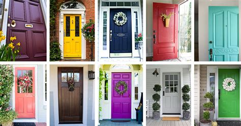 plants and colors that go best with a bright front door sailors