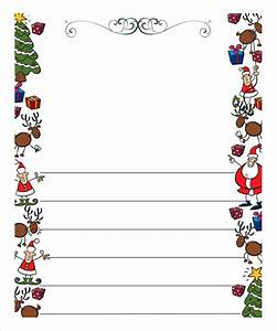 christmas letter template 9 free word pdf documents With blank christmas letter paper