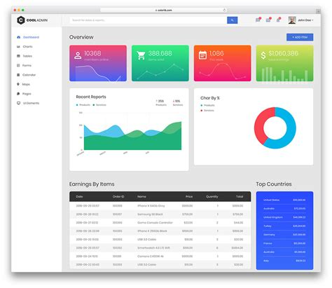 adminlte template alternative free bootstrap admin dashboard templates for your web app 2018