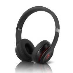 Refurb Beats by Dr. Dre Solo 2 On-Ear Headphones - Black