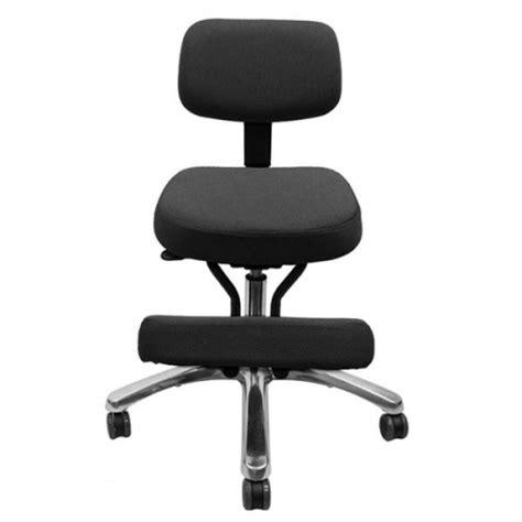 betterposture jazzy kneeling chair with backrest sports