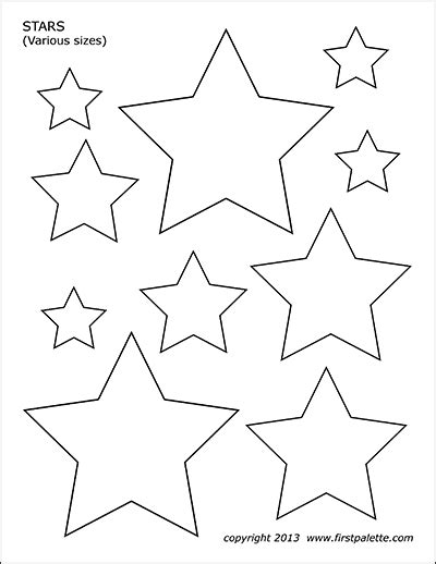 basic shapes  printable templates coloring pages firstpalettecom