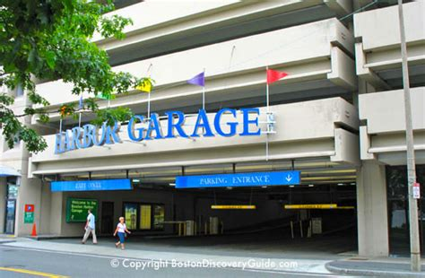 aquarium parking garage boston parking garages end attractions td