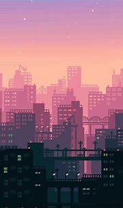 2932x2932 City Building Sunshine Pixel Art Ipad Pro Retina ...