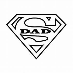 Super Dad Die Cut Vinyl Decal PV772 | Silhouette ...