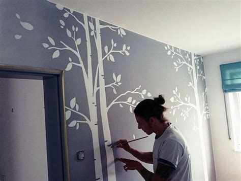 Wandgestaltung Babyzimmer Mädchen by Individuelle Wandbemalung Im Kinderzimmer Junior