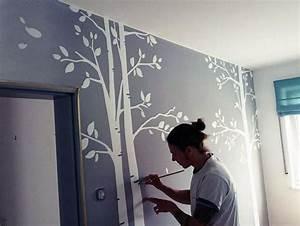 Wände Gestalten Ohne Tapete : alternative wandgestaltung im kinderzimmer http www ~ Michelbontemps.com Haus und Dekorationen