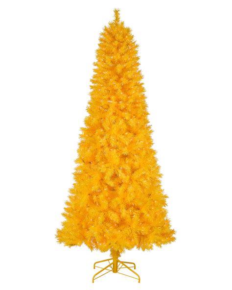Yellow Christmas Tree  Basics Collection Treetopia