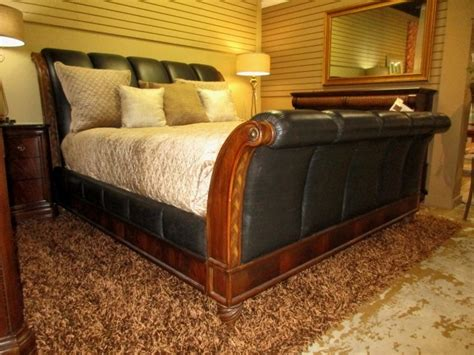 bob mackie sleigh bed   missing piece