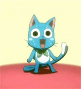 Happy Fairy Tail GIF - Find & Share on GIPHY