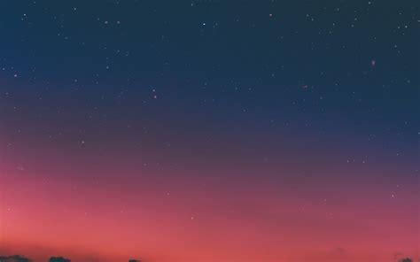 ns23-night-sky-sunset-pink-nature-wallpaper