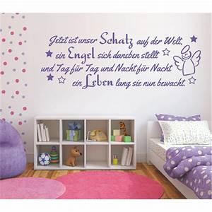 Wandtattoo Baby Mädchen : wandtattoo spruch m dchen geburt engel kind leben wandsticker wandaufkleber ebay ~ Buech-reservation.com Haus und Dekorationen