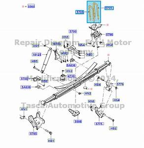 New Oem Rear Leaf Spring U Bolt 2011
