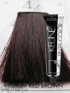 Brown Hair Color Chart Keune Tinta Color Medium Red Brown 4 6 Hair Color Dye