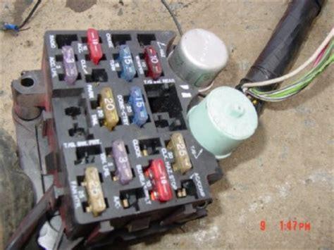 Jeep Cj7 Fuse Block Wiring by Jeep Cj Dash Wiring Harness Fuse Block Cj7 Cj5 7 5 8