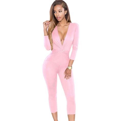Pink Rompers And Jumpsuits - Breeze Clothing