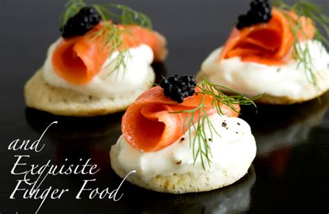 canapes finger food finger foods salmon canapes and luxury food on