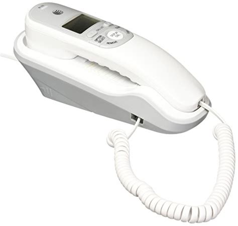 corded wall phone with caller id at t corded phone with caller id wall mount landline