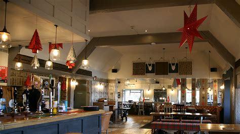 highlands uckfield pub christmas snowflakes and lasercut