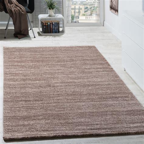 teppich modern wohnzimmer kurzflor gemuetlich meliert