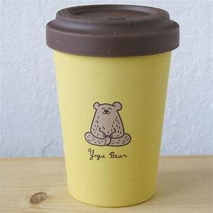 Coffee To Go Bambus : bamboo cup coffee to go becher bambus yoga bear b r kaffeebecher ebay ~ Eleganceandgraceweddings.com Haus und Dekorationen