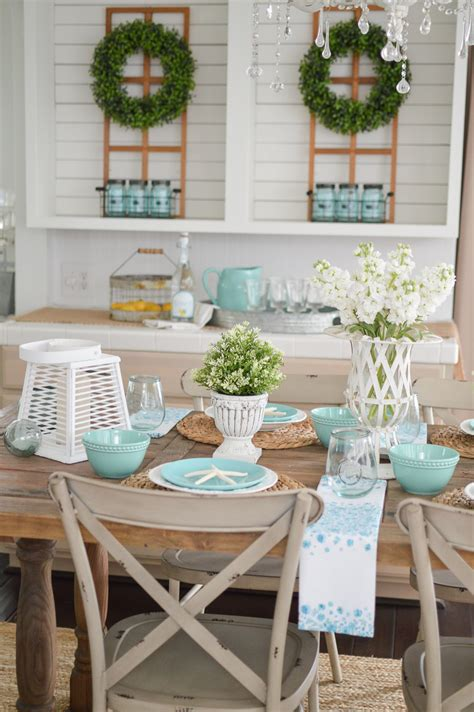 farmhouse kitchen table decor ideas summer farm table decorating ideas