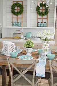 Summer, Farm, Table, Decorating, Ideas
