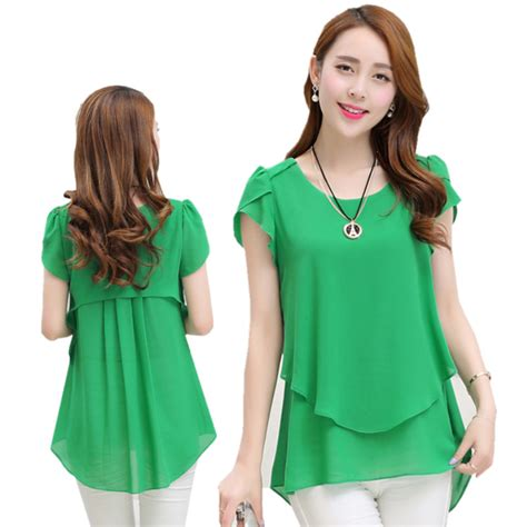 womens plus size blouses aliexpress com buy summer blouses shirts 2016