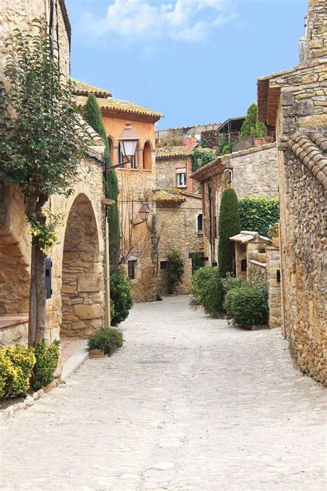 Peratallada Girona Spain Travel Pinterest