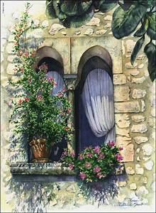 Wandmalerei Selber Machen : marian gault watercolor paintings misc ~ Frokenaadalensverden.com Haus und Dekorationen