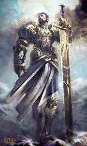Daelegoth Orndeir, líder do culto herege do Sol Ascendido ...