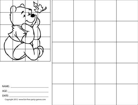 grid drawing pooh aaronherreracom