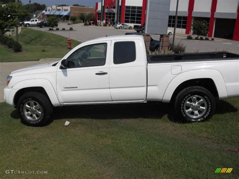 2005 Tacoma Prerunner by 2005 White Toyota Tacoma Prerunner Access Cab