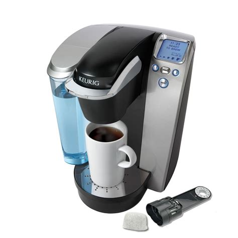 This is a live demonstration of. Keurig K75 Platinum Programmable Single-Serve Coffee Maker at Lowes.com